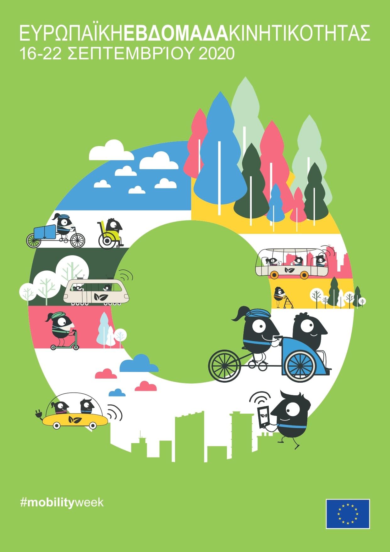 Ευρωπαϊκή Εβδομάδα κινητικότητας 16-22 Σεπτεμβρίου 2020